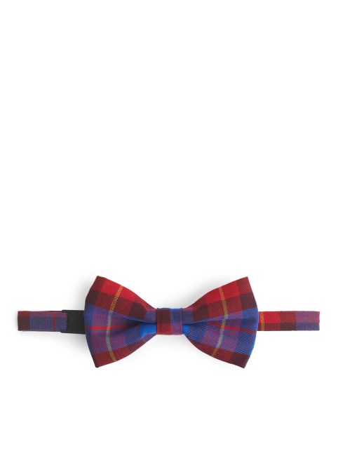Checked Twill Bowtie