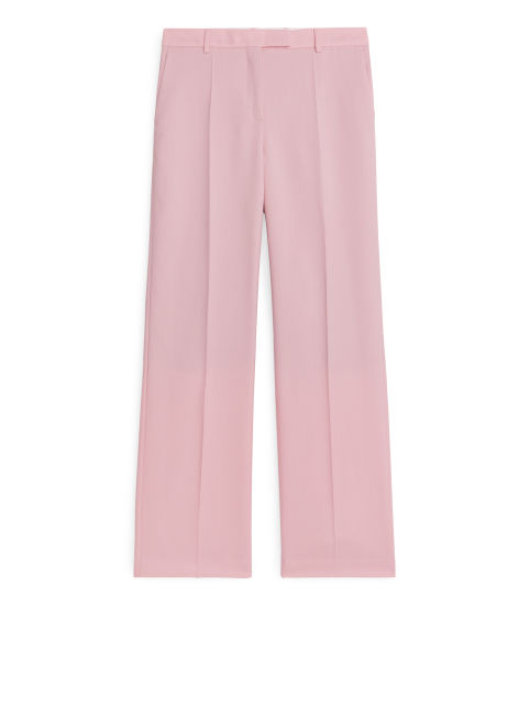 Wool Hopsack Trousers