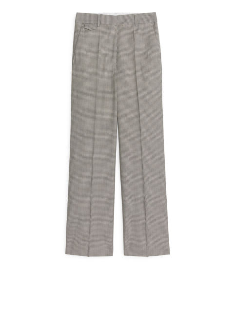 Wool Cotton Trousers
