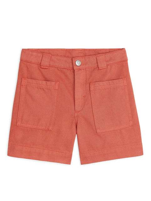 Cotton Lyocell Workwear Shorts