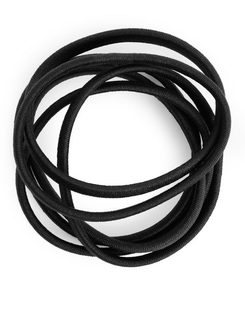 Hair Elastics, Set of 6