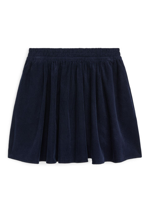Circle Cut Corduroy Skirt