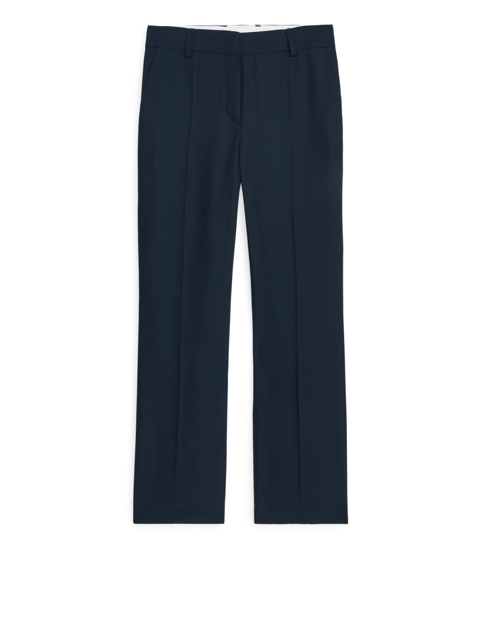 Front image of Arket no img-fluid twill trousers in blue