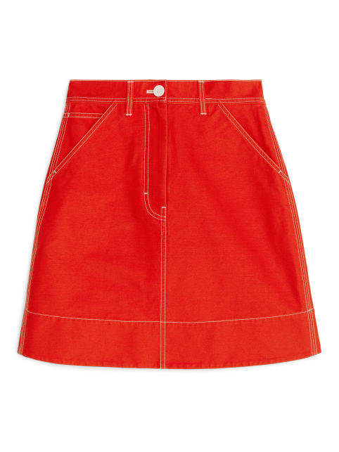 Workwear Mini Skirt