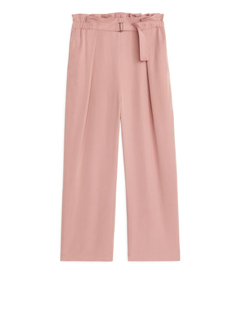Relaxed Lyocell Trousers