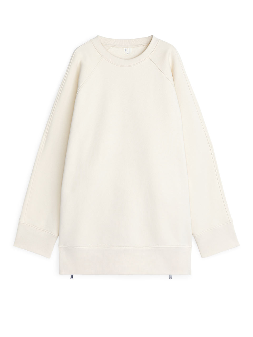 Beige Tops Sweatshirt Arket Light Oversized qzVpSUM