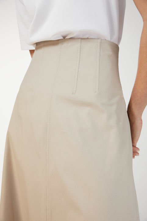 Cotton Twill Skirt