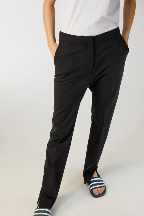 Stretch Wool Blend Trousers