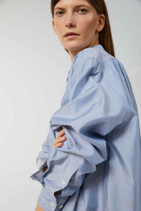 Oversized Silk Blouse