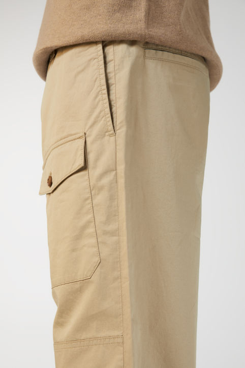 Loose Drawstring Trousers