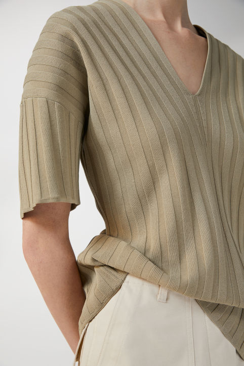 Ribbed Tunic