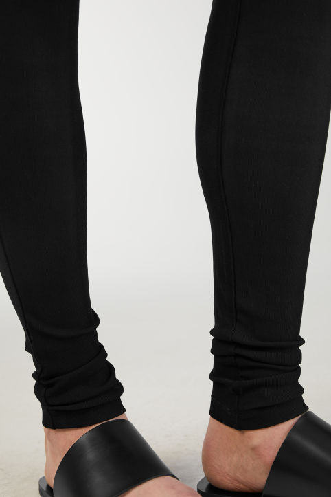 Silk Rib Leggings