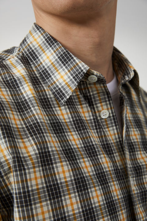 Shirt 5 Checked Poplin