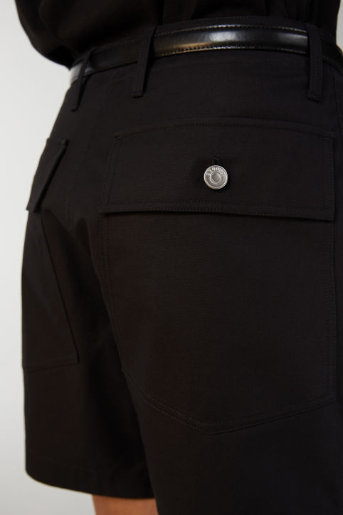 Cotton Twill Workwear Shorts