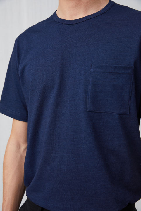 Cotton Indigo T-shirt