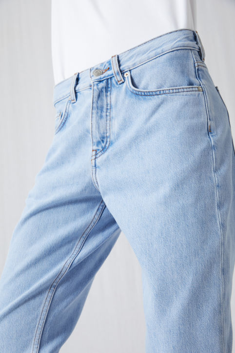 Relaxed Vintage Indigo Jeans