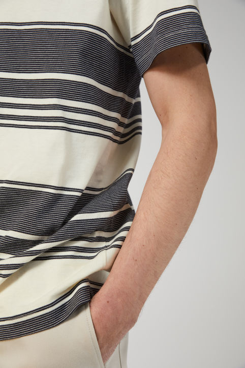 Heavyweight Striped T-Shirt