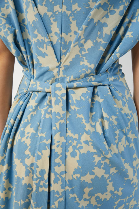 Floral Box Pleat Dress