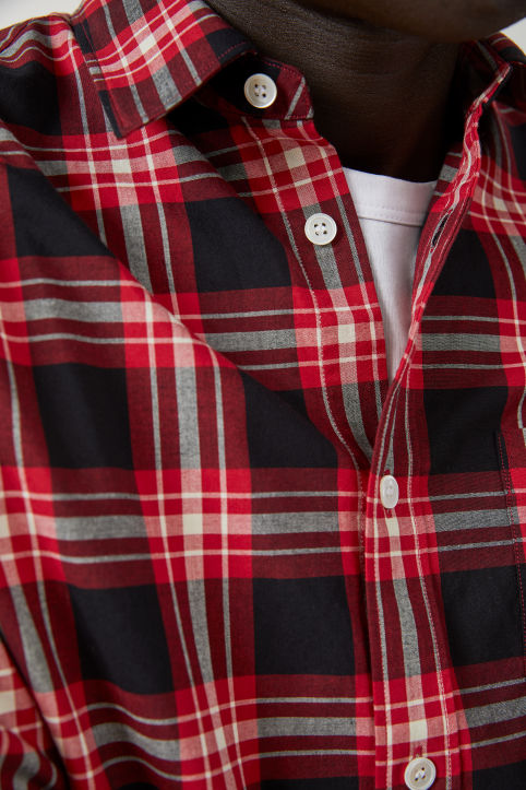 Shirt 11 Checked Poplin