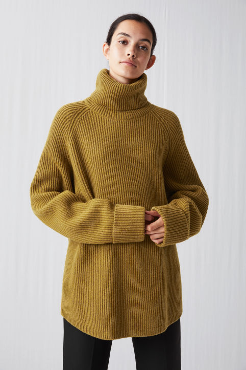 Relaxed Turtleneck Jumper