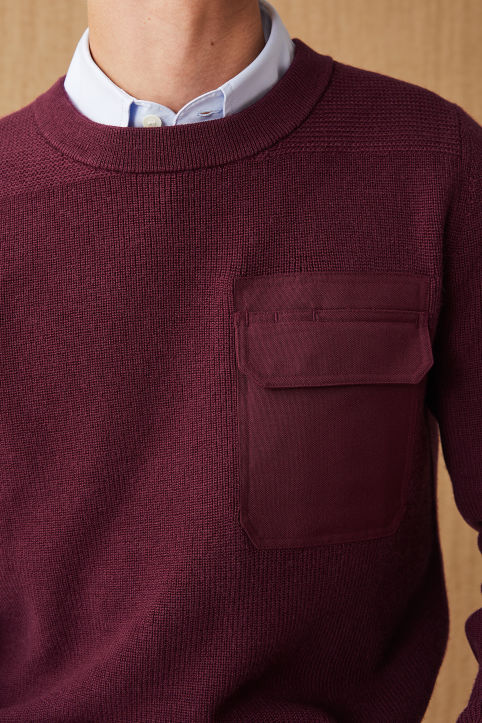 Wool Blend Field Jumper