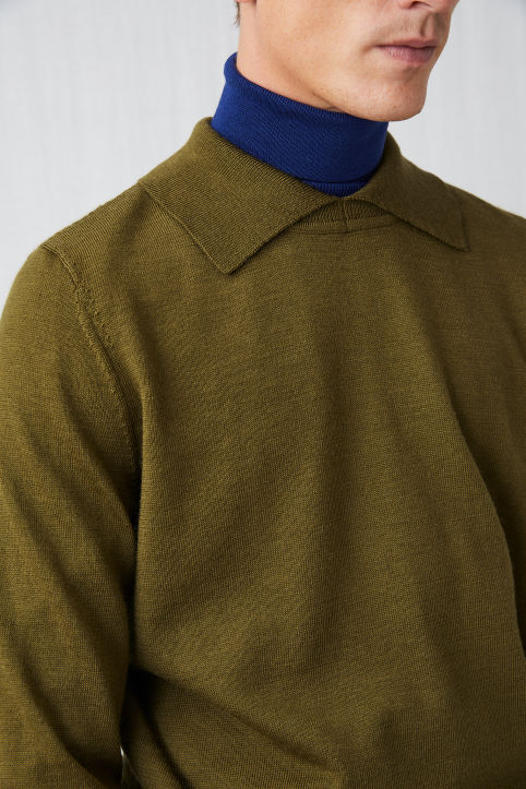 Raw wool™ Utility Polo