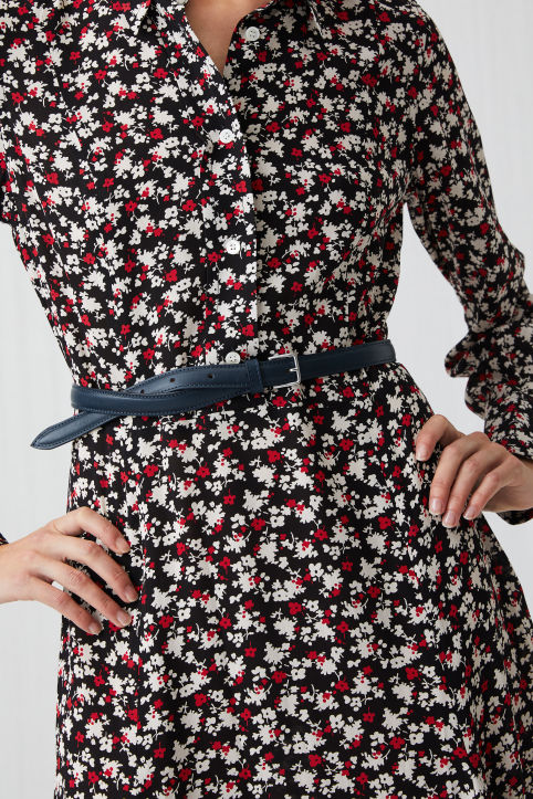 Floral Crêpe Dress
