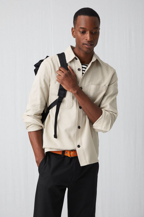 Cotton Twill Overshirt