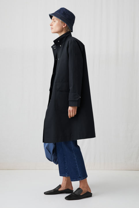High-Neck Topcoat