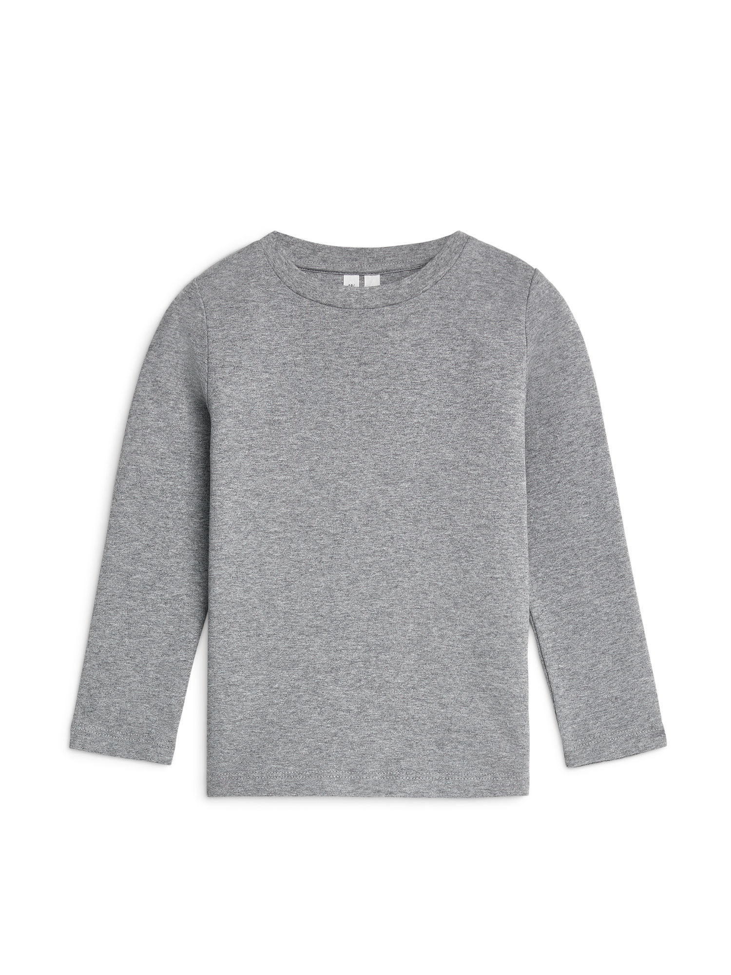 Fabric Swatch image of Arket long-sleeve t-shirt in grey