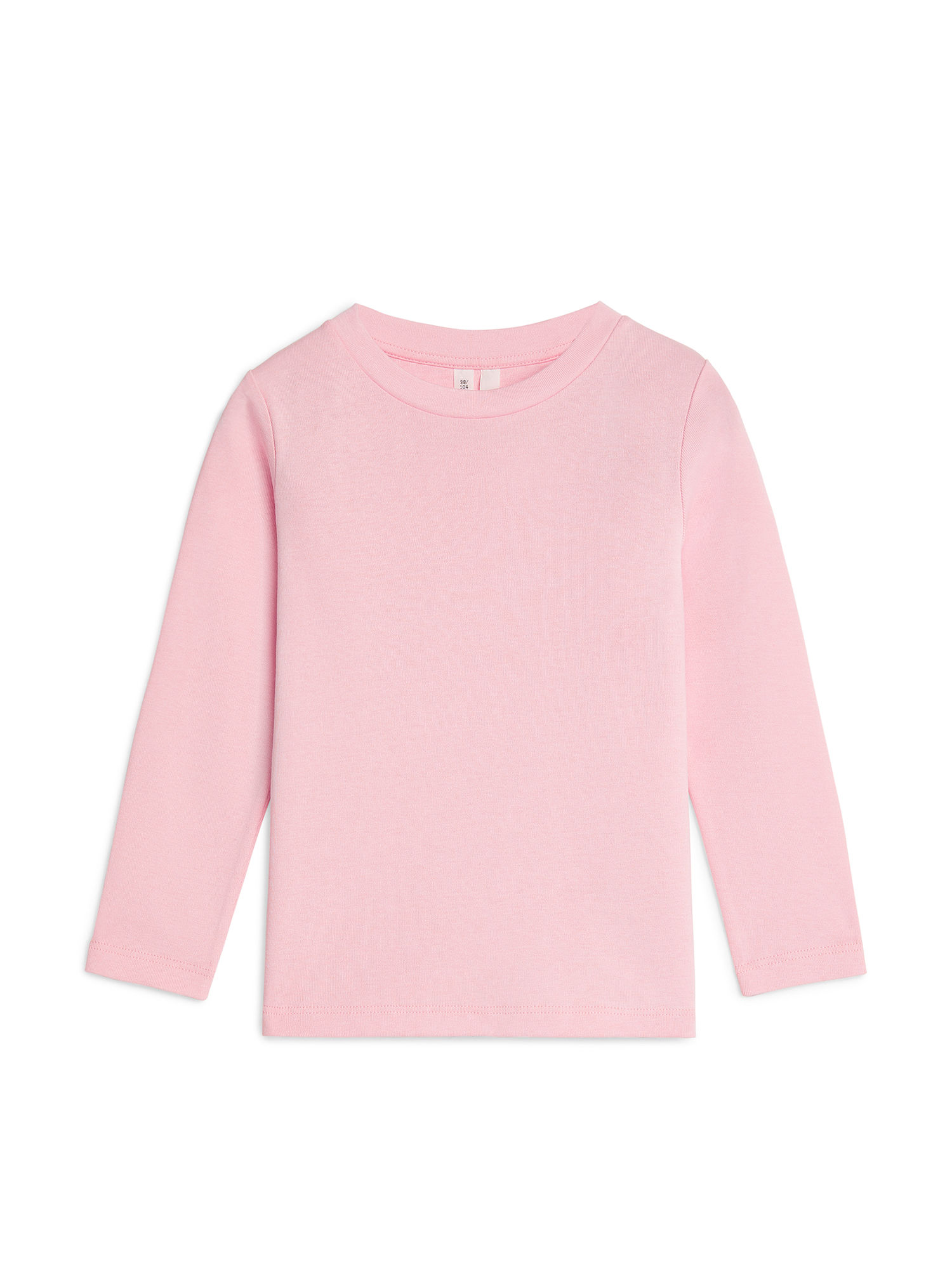 Fabric Swatch image of Arket long-sleeve t-shirt in pink