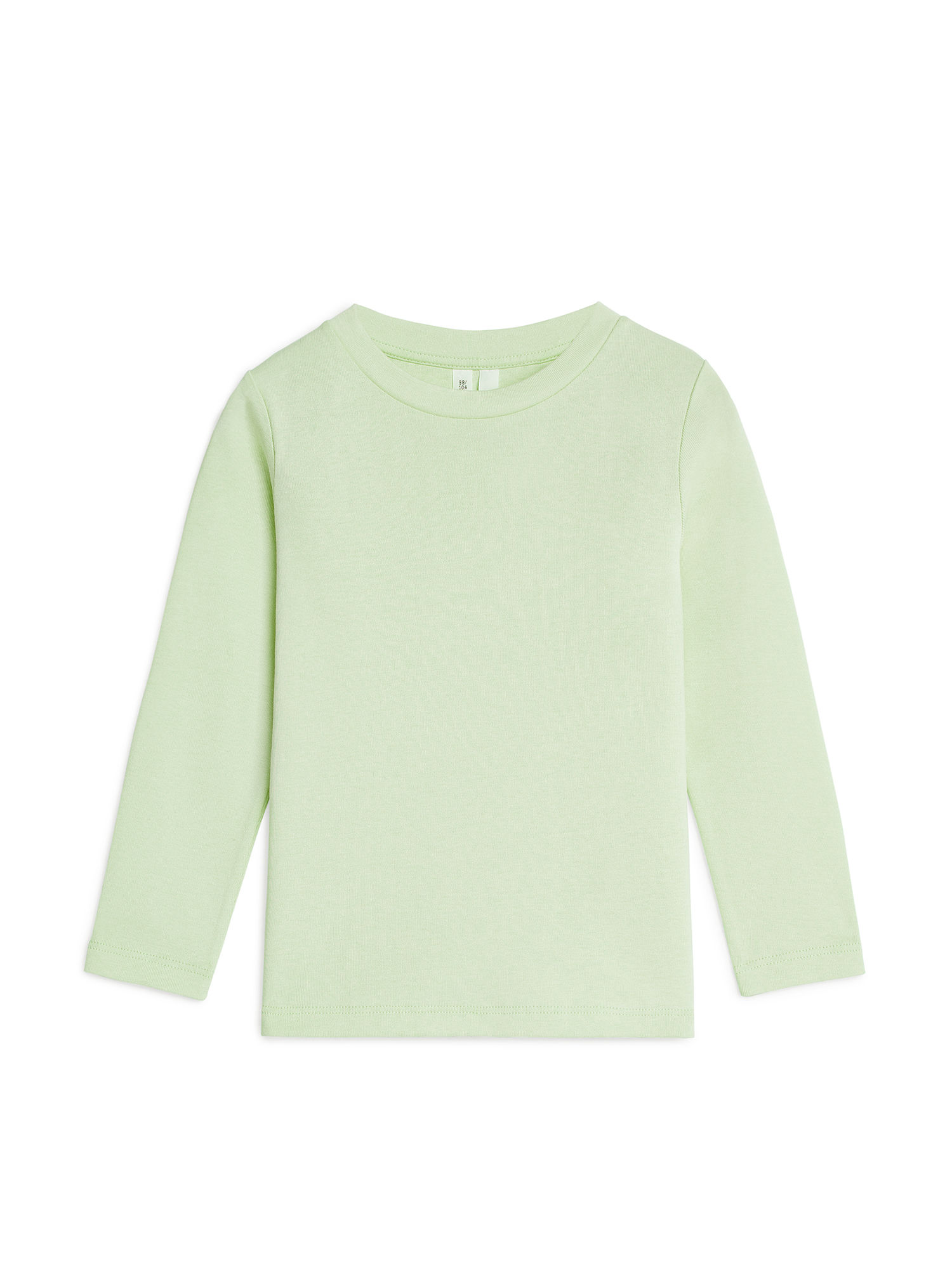 Fabric Swatch image of Arket long-sleeve t-shirt in green