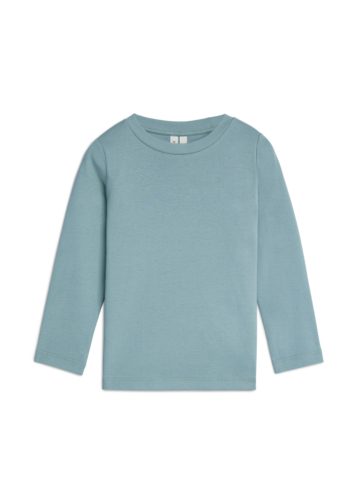 Fabric Swatch image of Arket long-sleeve t-shirt in turquoise