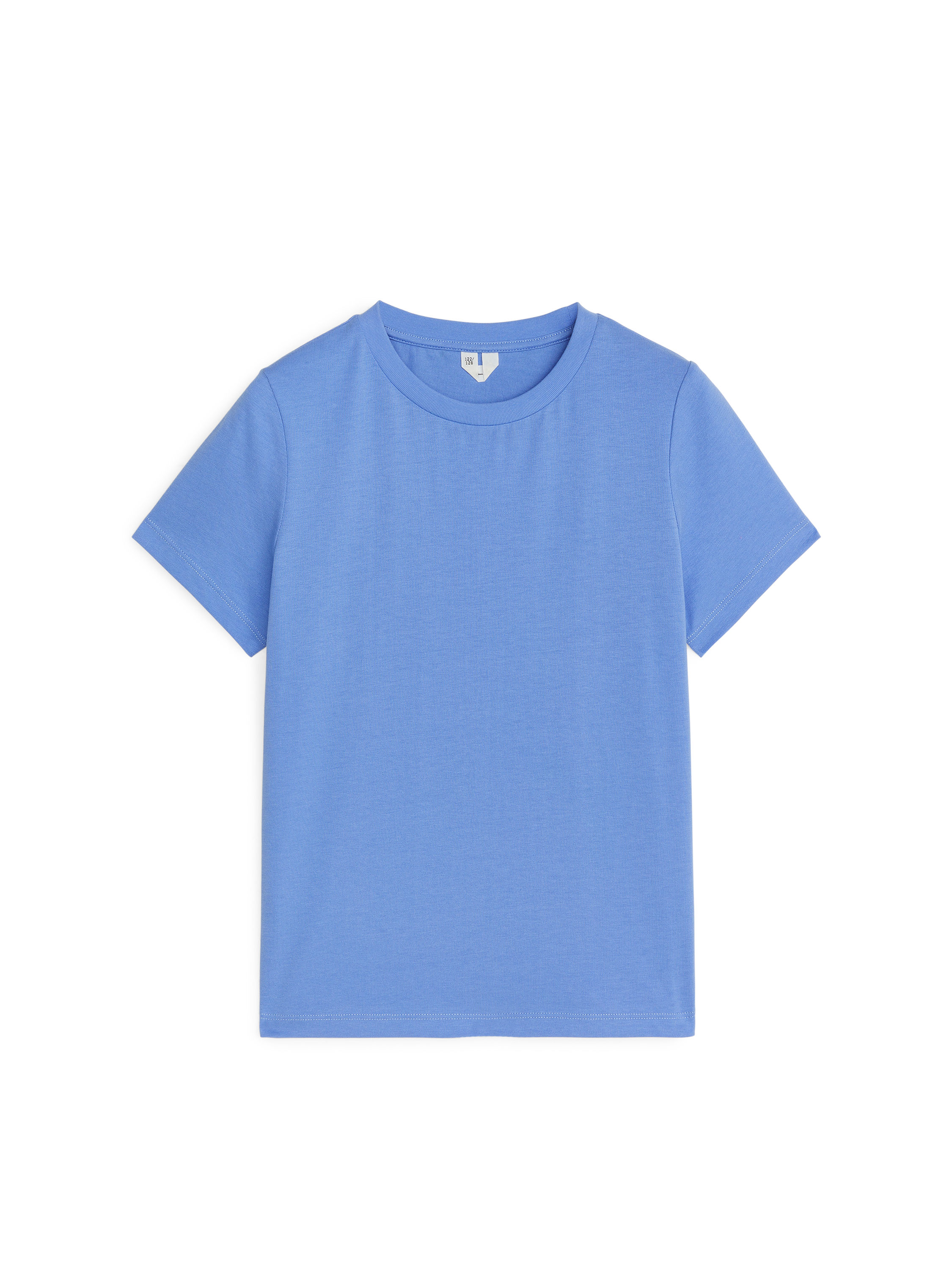 Fabric Swatch image of Arket crew-neck t-shirt in blue