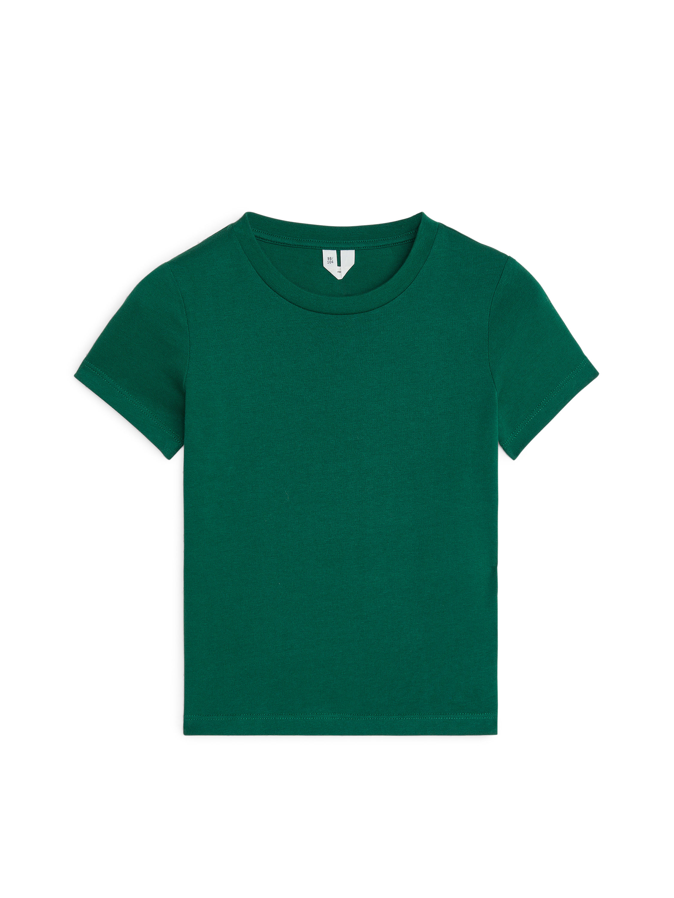 Fabric Swatch image of Arket crew-neck t-shirt in green