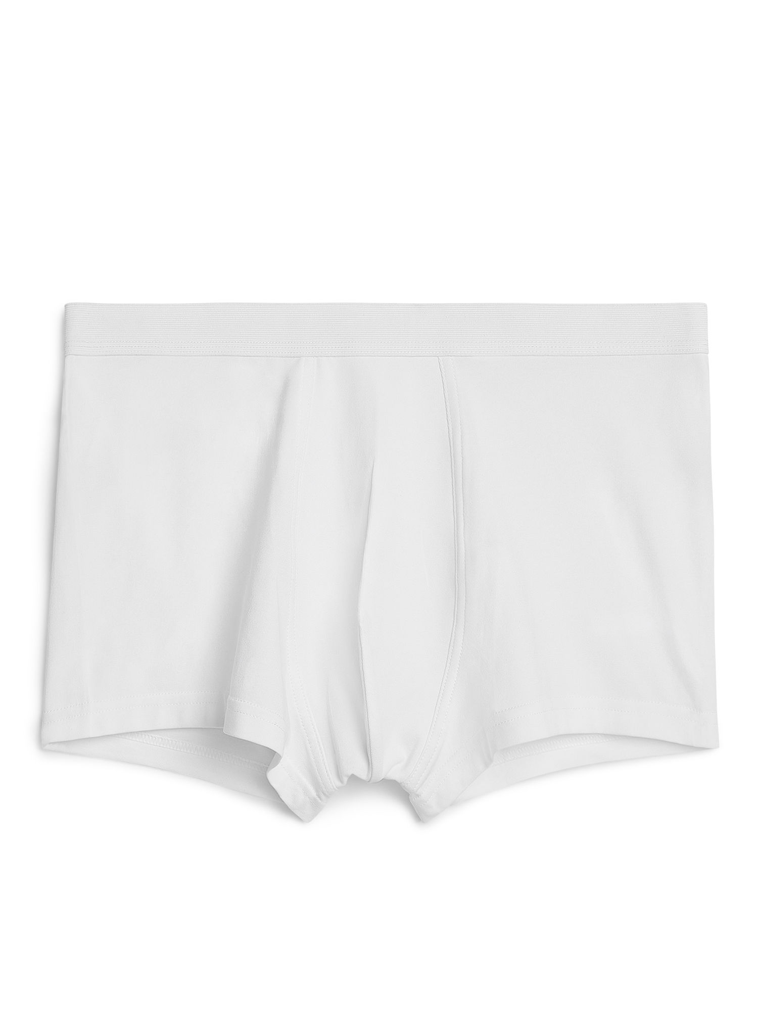 Fabric Swatch image of Arket pima cotton trunks in white