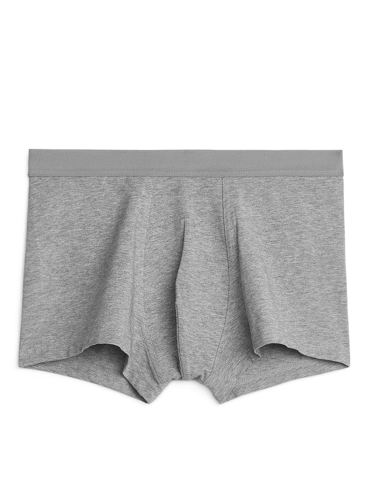 Fabric Swatch image of Arket pima cotton trunks in grey