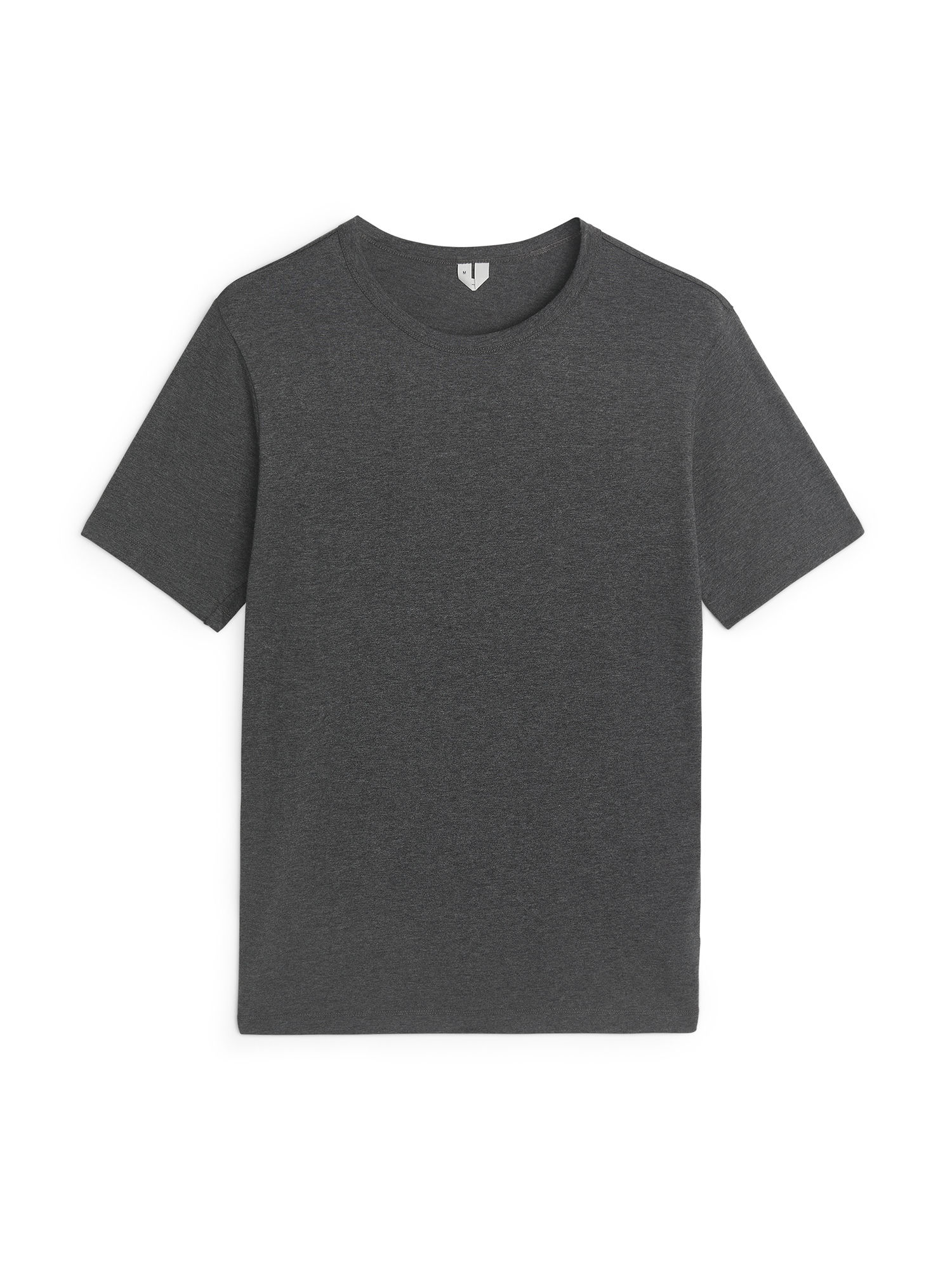 Fabric Swatch image of Arket 150 gsm pima cotton t-shirt in grey