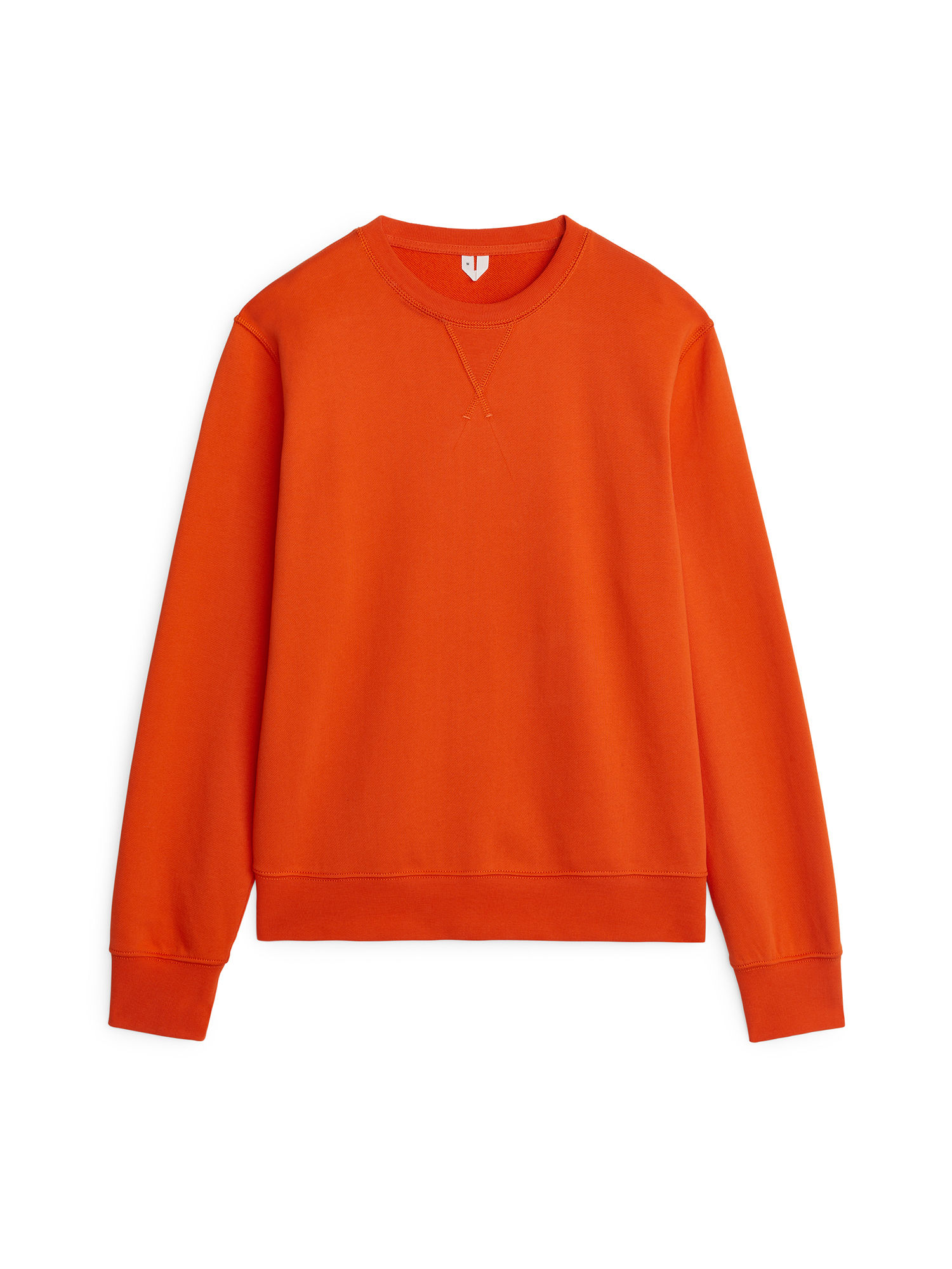 Fabric Swatch image of Arket 340 gsm french terry sweatshirt in orange