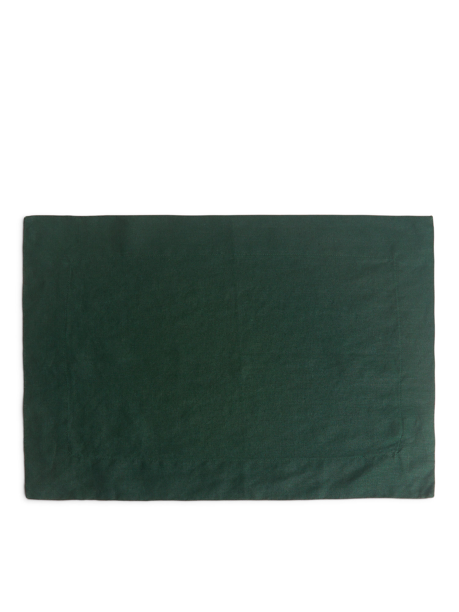 Fabric Swatch image of Arket linen placemat in green