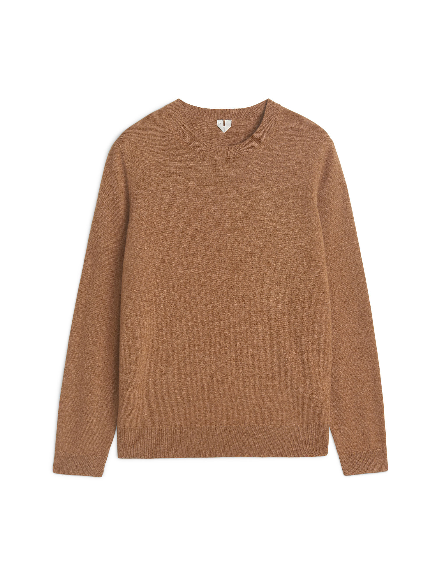 Fabric Swatch image of Arket cashmere crew-neck jumper in beige