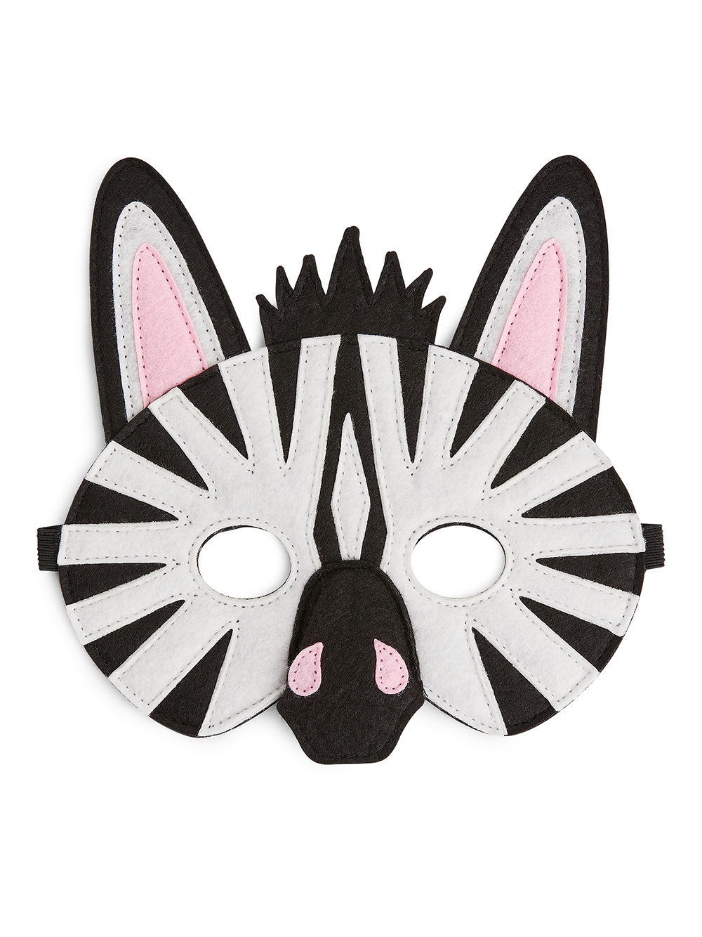 Fabric Swatch image of Arket animal mask in white