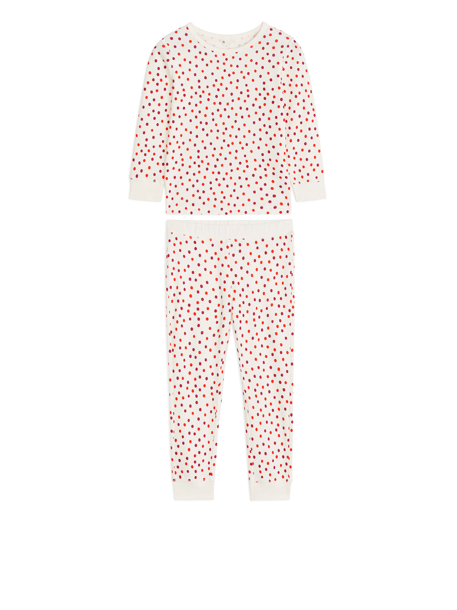 Fabric Swatch image of Arket cotton jersey pyjama set in pink