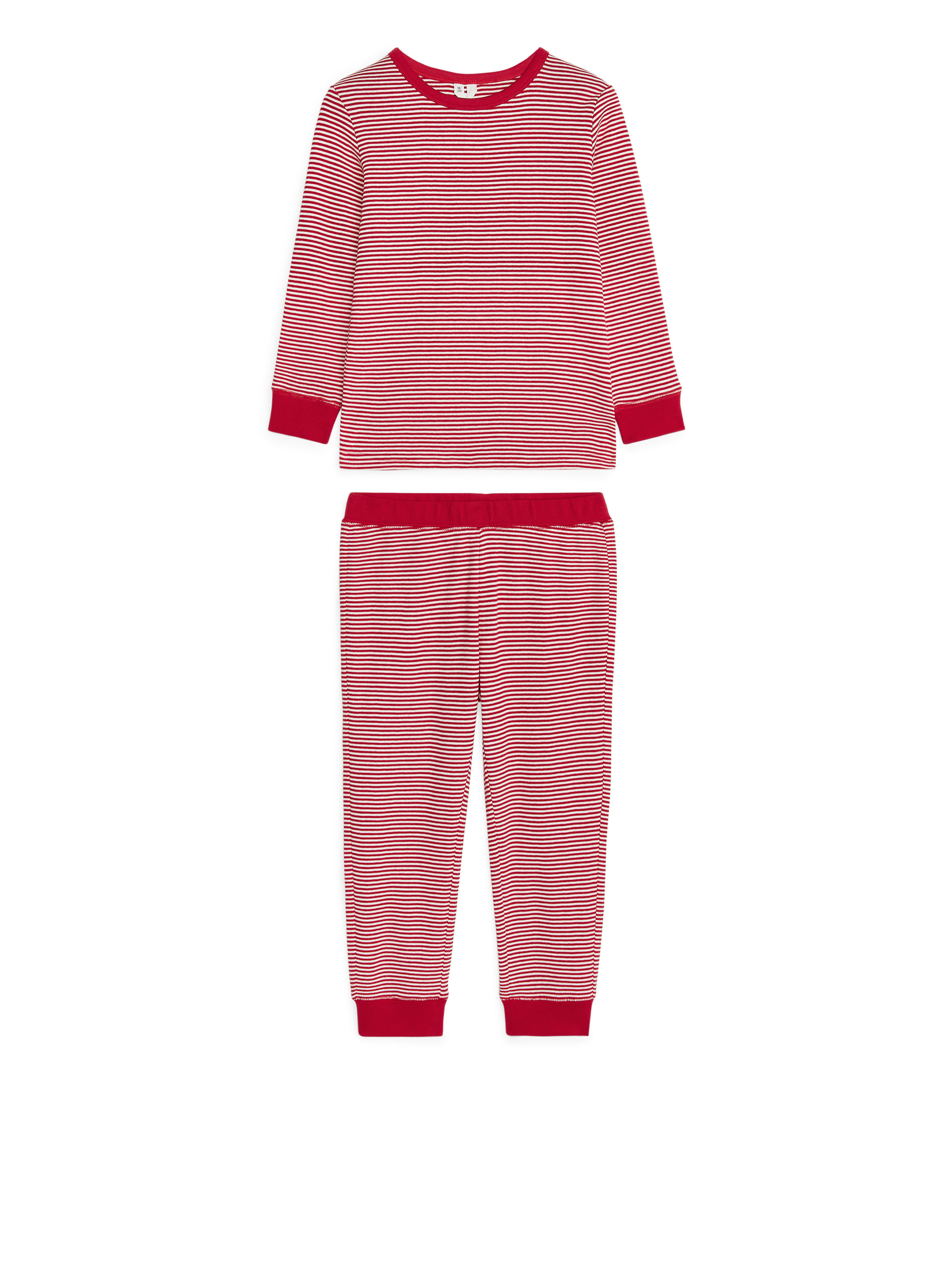 Fabric Swatch image of Arket jersey pyjama set in red