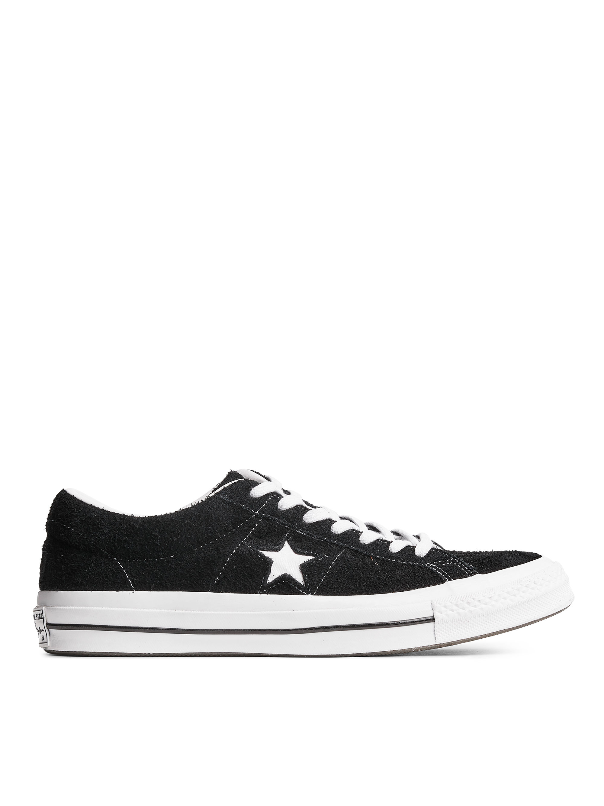 Fabric Swatch image of Arket converse one star low in black