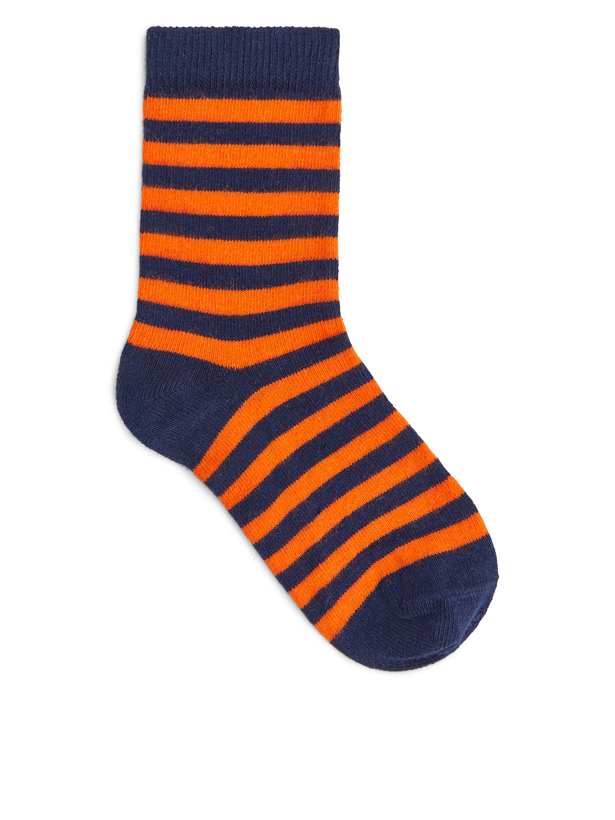 Fabric Swatch image of Arket striped socks, 2-pack in blue
