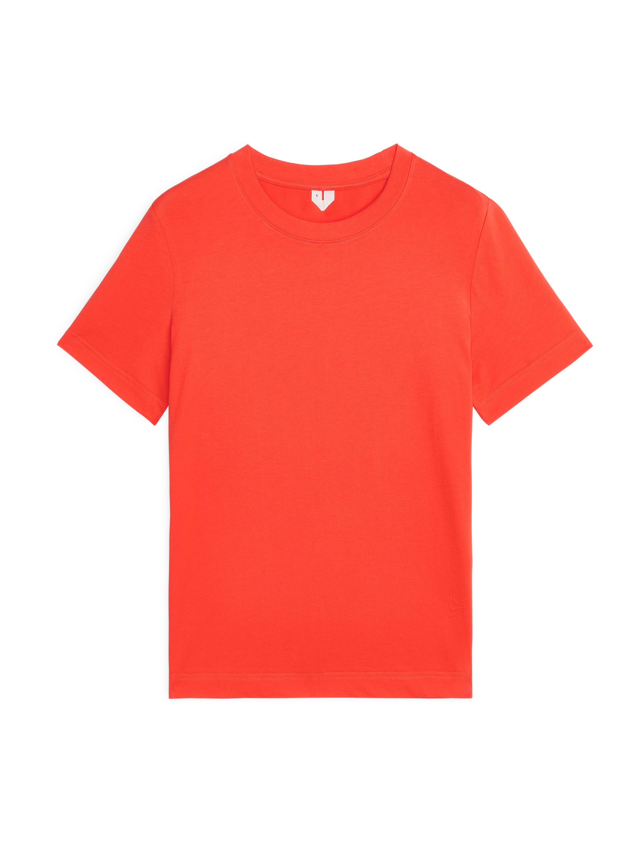 Fabric Swatch image of Arket crew-neck t-shirt in orange