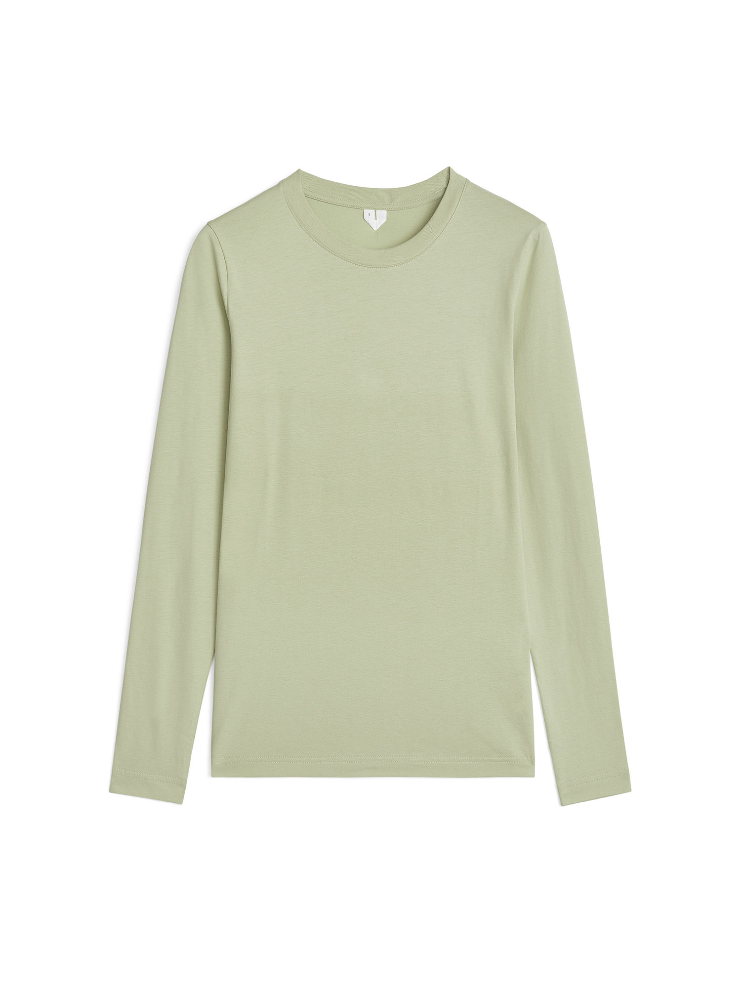Fabric Swatch image of Arket long sleeve t-shirt in green