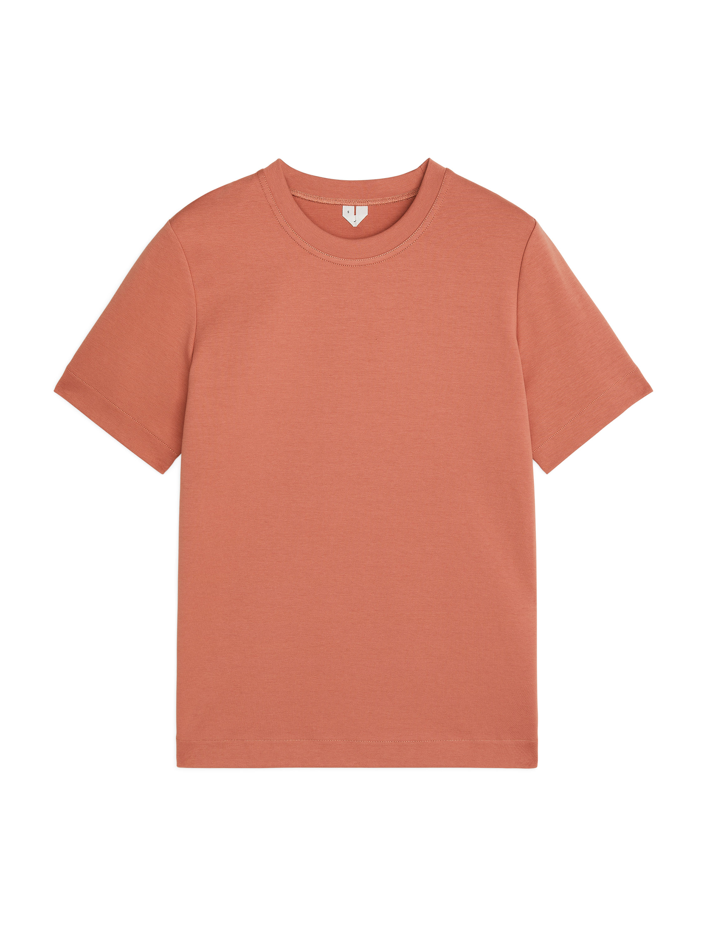 Fabric Swatch image of Arket heavy-weight t-shirt in orange