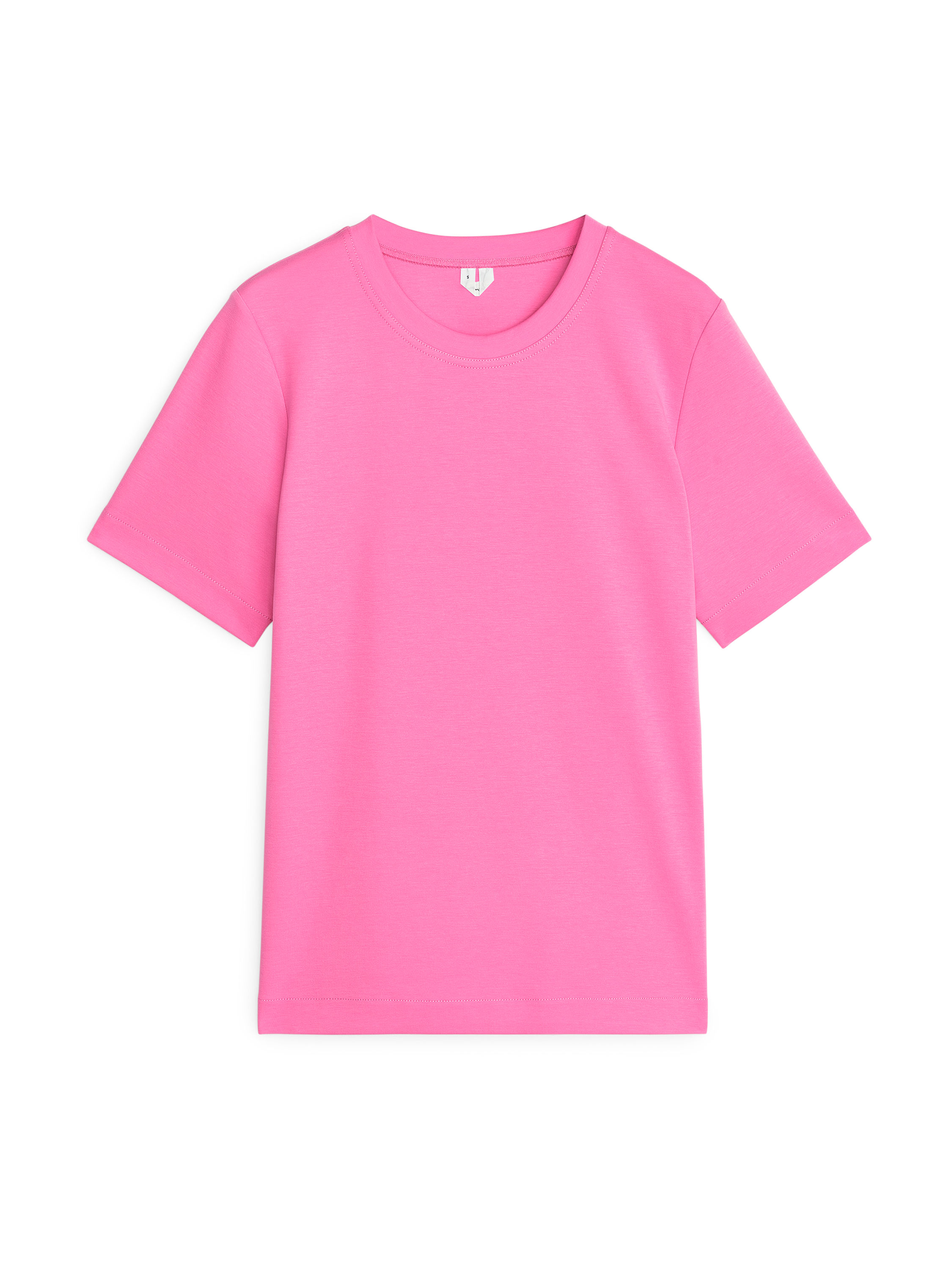 Fabric Swatch image of Arket heavy-weight t-shirt in pink